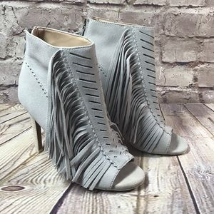 JOES HEELS SHOES Tassle Ankle Boot Size 6